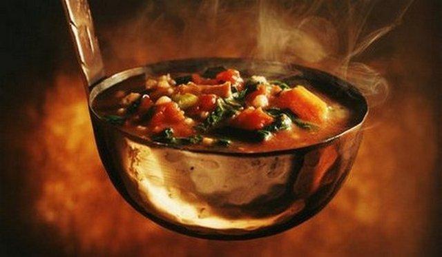 овощи в поварёшке